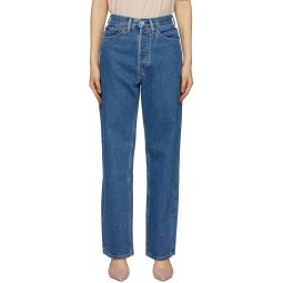 Blue 30s Ladies Jeans