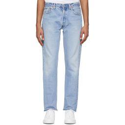 Indigo Levi's Edition Straight Taper Fit Jeans
