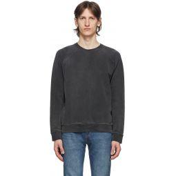 Black Shrunken 50's Sweatshirt