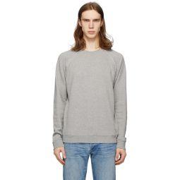 Grey Shrunken 50's Sweatshirt