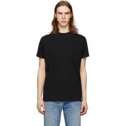 Black Modern T-Shirt