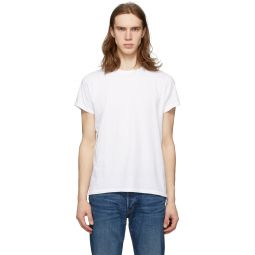 White Fitted 50's T-Shirt