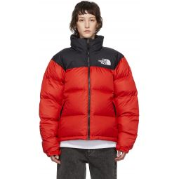 Red Down 1996 Retro Nuptse Jacket
