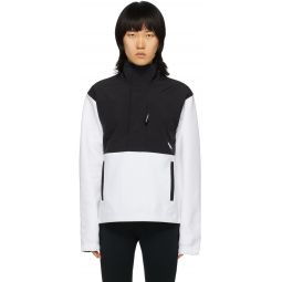 Black & White Graphic Collection Pullover Jacket