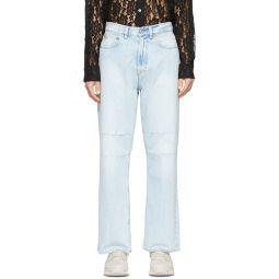 Blue Third Cut Jeans