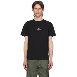 Black 'Archivio' Project T-Shirt