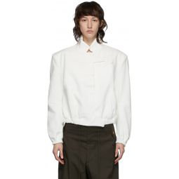 White Android Tailored Jacket