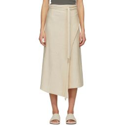 Off-White Horizontal Sarong Skirt
