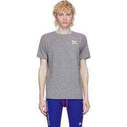 Grey Tadasana Mountain T-Shirt