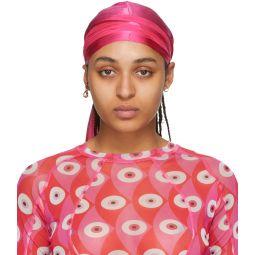 Pink Silk Emel Headscarf