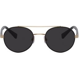 Gold Less Is Chic Sunglasses