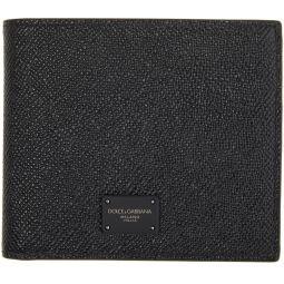Black Dauphine Bifold Wallet