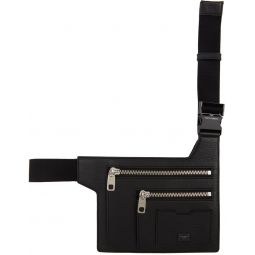 Black Flat Palermo Belt Bag