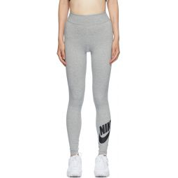 Grey Sportswear Leg-A-See Futura Long Leggings