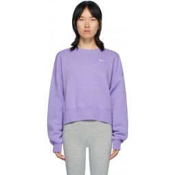 Purple Sportswear Essentials Sweatshirt