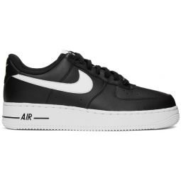 Black & White Air Force 1 '07 Sneakers
