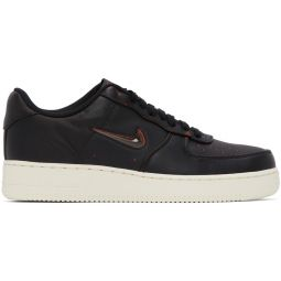 Black 'Home & Away' Air Force 1 '07 Jewel Sneakers