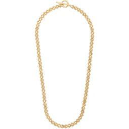 Gold Polished DNA Necklace