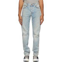 Blue Faded Steady Eddie II Jeans