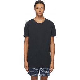 Black Seeing Lines T-Shirt
