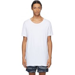 White Seeing Lines T-Shirt