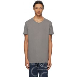 Grey Seeing Lines T-Shirt