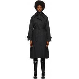 Black Ebihens Trench Coat