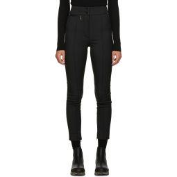 Black High-Rise Trousers