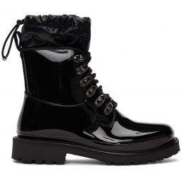 Black Galaxite Boots