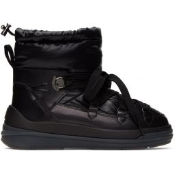 Black Down Insolux Ankle Boots