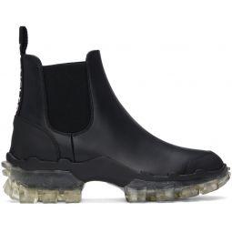 Black Hanya Chelsea Boots