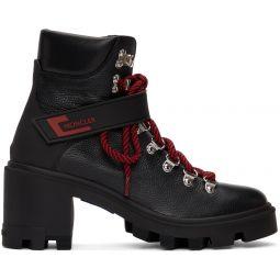 Black Carol Hiking Boots