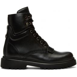 Black Patty Ankle Boots