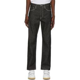 Black Patch Jeans