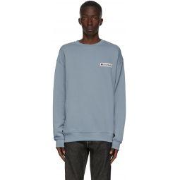 Blue Logo Patch Sweatshirt