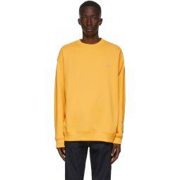 Yellow Oversized Sweatshirt