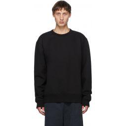 Black Classic Fit Sweatshirt