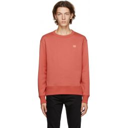 Red Fairview Patch Sweatshirt