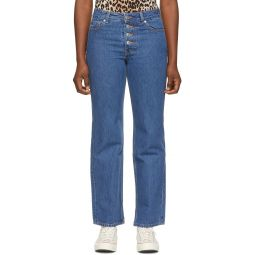 Blue Basic Denim Jeans