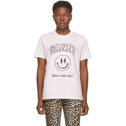 Pink Smiley T-Shirt