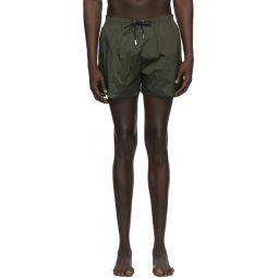 Green Back Logo Swim Shorts