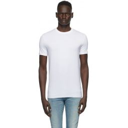 Two-Pack White Crewneck T-Shirt