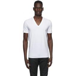 Two-Pack White V-Neck T-Shirt