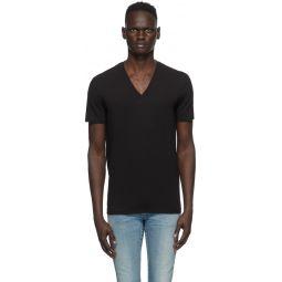 Two-Pack Black V-Neck T-Shirt