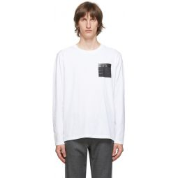 White 'Stereotype' Long Sleeve T-Shirt