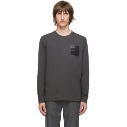 Grey 'Stereotype' Long Sleeve T-Shirt