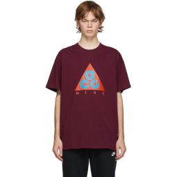 Burgundy Logo T-Shirt