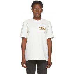 White 'Lavish' T-Shirt