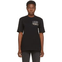 Black 'Lavish' T-Shirt