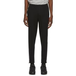 Black Interlock Track Pant